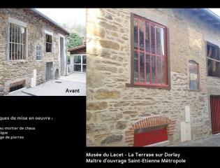Musée du Lacet - La Terrasse sur Dorlay
